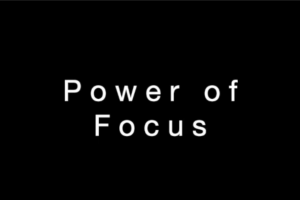 The Power Of Focus Youtube screenshot
