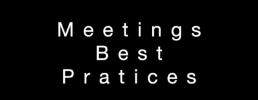 Meetings best practices michael beach coaching and consulting