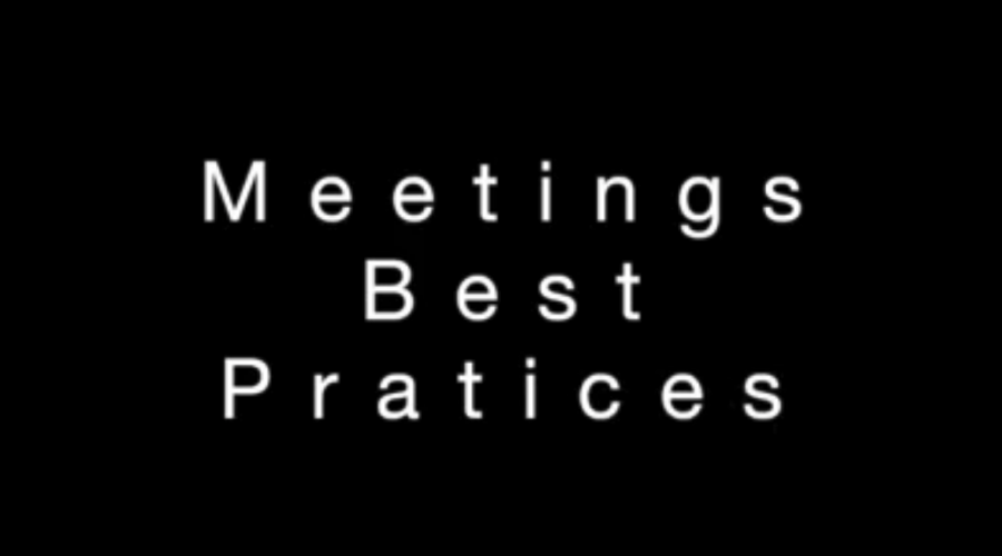 Meetings Best Practices