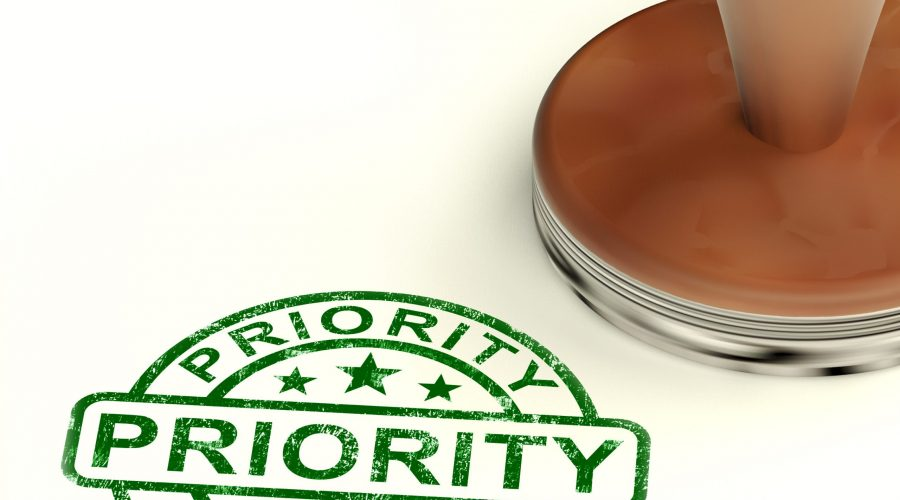 What's Your Priority? Stick To It Or Don't, It's Up To You