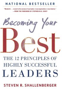 Amazon's image of Becoming Your Best by Steven R. Schallenberger a book cover.