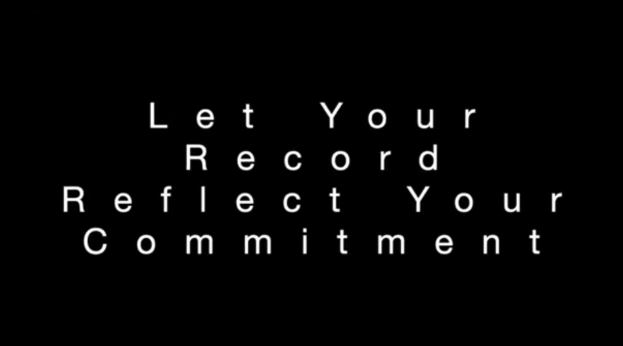 Let Your Record Reflect Your Commitment – Leadership Best Practices
